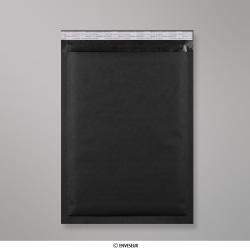 450x320 mm (C3) Sachet à bulles en Kraft noir, Noir, Auto-adhésive avec Bande Détachable