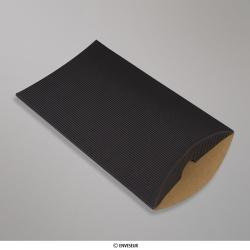 229x162+30 mm (C5) caixa almofada com Ondulação - preto