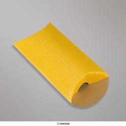 113x81+30 mm (C7) caixa almofada com Ondulação - oro