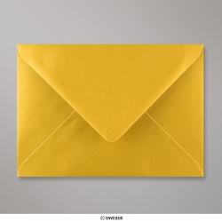 125x175 mm envelope metálico - oro