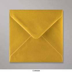 140x140 mm Envelope metálico - oro