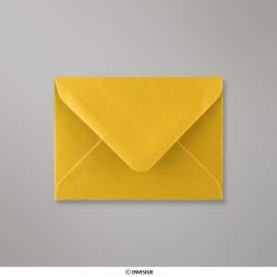 82x113 mm (C7) Enveloppe Or Métalisée, Doré, Gommée