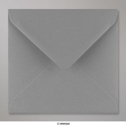 155x155 mm Dunkelgrau Briefumschlag