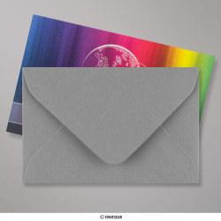 62x94 mm envelope cinzento