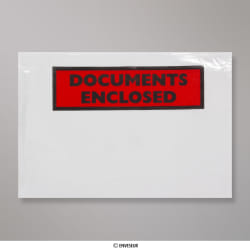 114x162 mm (C6) Clear Documents Enclosed Wallet - Printed
