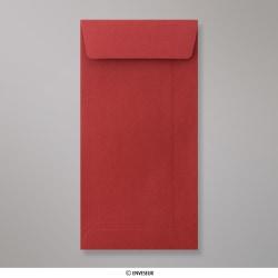 Sobre Rojo Oscuro Con Tira De Silicona de 220x110 mm (DL), Rojo Oscuro, Autoadhesivo