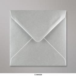 140x140 mm Envelope metálico - prata