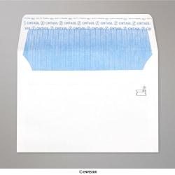 114x162 mm (C6) Biela obálka