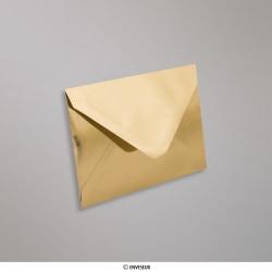 82x113 mm (C7) envelopes finição espelhado - oro