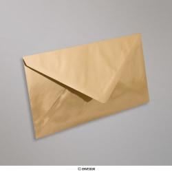 110x220 mm (DL) envelopes finição espelhado - oro