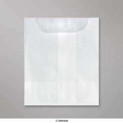Sobre De Glassine de 57x57 mm, Transparente, Solapa Abierta