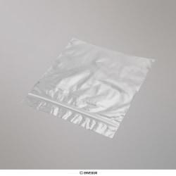 140x140 mm Transparente Druckverschlussbeutel, Klar, Wiederverschließbar