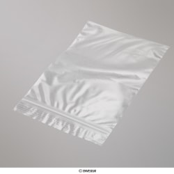 Bolsa De Plástico Transparente Con Cierre Zip de 355x255 mm, Transparente, Cierre Zip