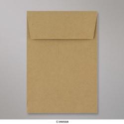 229x162x25 mm (C5) Manila Briefumschlag mit Falz, Manila, Haftklebend