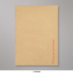 162x114 mm (C6) Enveloppe manille- dos cartonné, Manille, Auto-adhésive avec Bande Détachable