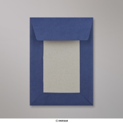 162x114 mm (C6) Enveloppes dos cartonné bleue foncée, Bleue Marine, Auto-adhésive avec Bande Détachable
