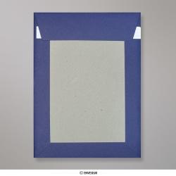 229x162 mm (C5) Envelope azul marinho placa traseira