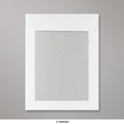 241x178 mm Envelope Branco com Cartolina ao Dorso