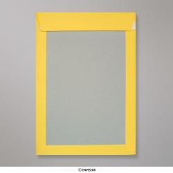 324x229 mm (C4) envelope placa traseira amarelo escuro