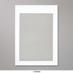 324x229 mm (C4) Enveloppe blanche- dos cartonné, Blanche, Auto-adhésive avec Bande Détachable