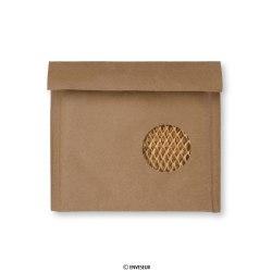 165x165 mm Saco almofadado de favo de mel Manilla