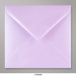 155x155 mm Enveloppe Lilas Brillante, Lilas Brillante, Gommée