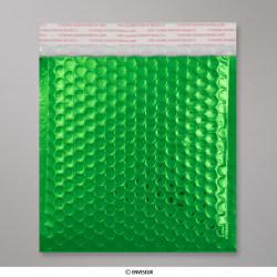 165 x 165 mm Groene enveloppen
