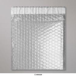 Translúcido Bolsa acolchada con burbujas de plástico de 165x165 mm, Translúcido, Autoadhesivo
