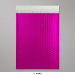324x230 mm (C4) Sachet à bulles rose métalliques gloss, Rose passionné, Auto-adhésive avec Bande Détachable