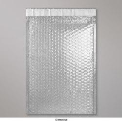 324x230 mm (C4) Lichtdurchlässige Glänzende Metalische Luftpolster - Versandtasche, Lichtdurchlässig, Haftklebend