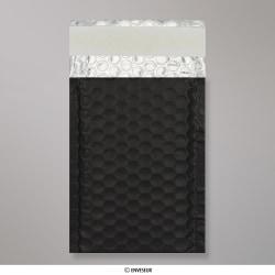 145x90 mm Black Metallic Matt Bubble Bag
