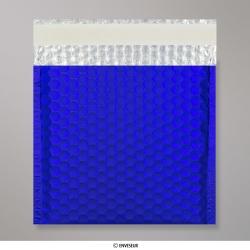 165x165 mm Dark Blue Metallic Matt Bubble Bag