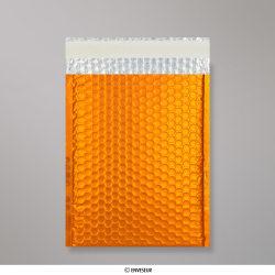 324x230 mm (C4) Oranje Metalen Mat Bubbel Tasje