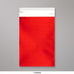 162x114 mm (C6) Saco da folha de matt - vermelho