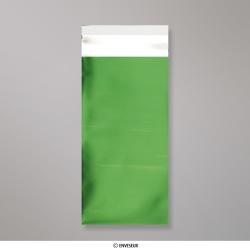 220x110 mm (DL) Saco da folha de matt - verde