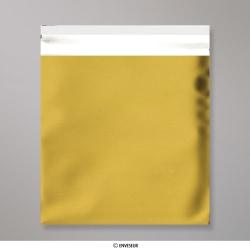 165x165 mm Saco da folha de matt - ouro