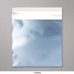 165x165 mm Saco da folha de matt - gelo azul