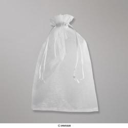 300x200 mm Silver Grey Organza Bag