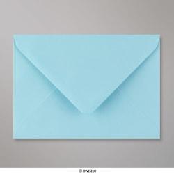 114x162 mm (C6) Busta Blu Pallido, Blu Pallido, Gommata