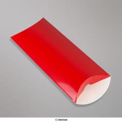 Rojo Cajas Almohadilladas de 220x110+35 mm (DL), Rojo, Sin engomado