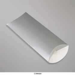 220x110+35 mm (DL) Scatola astuccio argento, Argento, Non gommata