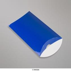 162x114+35 mm (C6) Modrá škatuľka v tvare vankúša