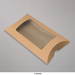 162x114 mm Manilla Kraft Pillow Box