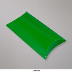 229x162+35 mm (C5) Boîte étui cartonnée verte, Vert, Auto-adhésive avec Bande Détachable