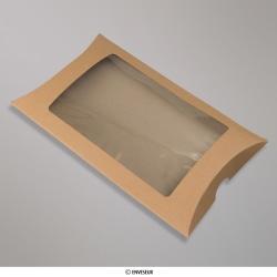 229x162 mm Manilla Kraft Pillow Box