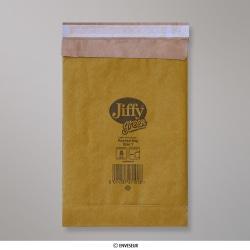 280x165 mm Gold Jiffy Gepolsterte Briefumschläge, Gold, Haftklebend - Verschluss