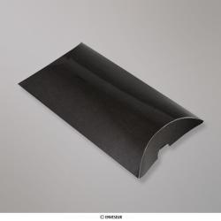 324x229+50 mm (C4) Boîte étui cartonnée noire, Noir, Auto-adhésive avec Bande Détachable