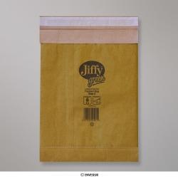 195x280 mm Tradičná polstrovaná obálka Jiffy