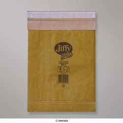 Bolsa acolchada con burbujas JIFFY de 195x280mm, Oro, Autoadhesivo