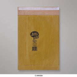 Bolsa acolchada con burbujas JIFFY de 381x245 mm, Oro, Autoadhesivo